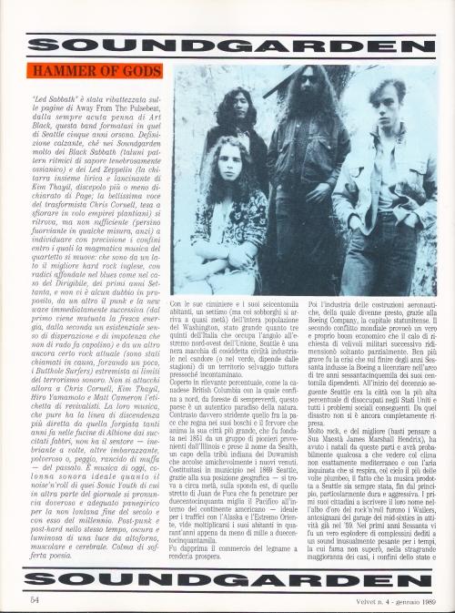 Soundgarden - Hammer Of Gods 1