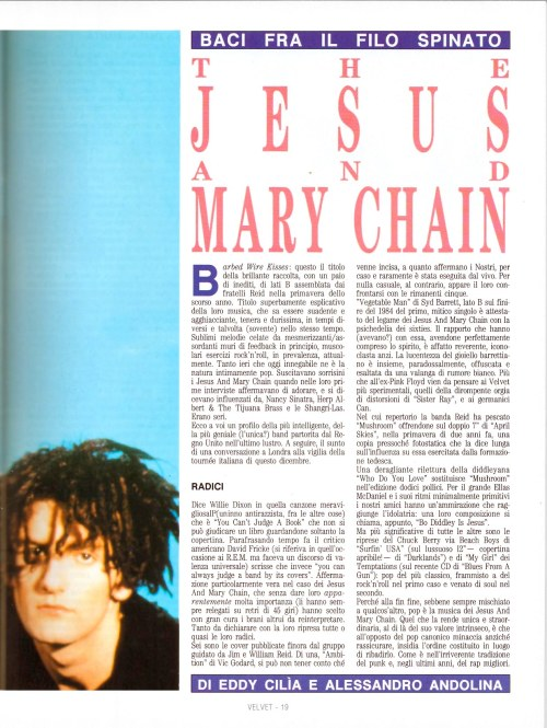 The Jesus And Mary Chain - Baci fra il filo spinato 2
