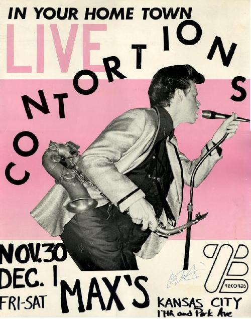 Contortions Poster