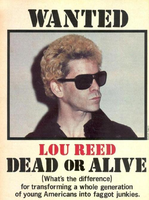 Lou Reed - Dead Or Alive