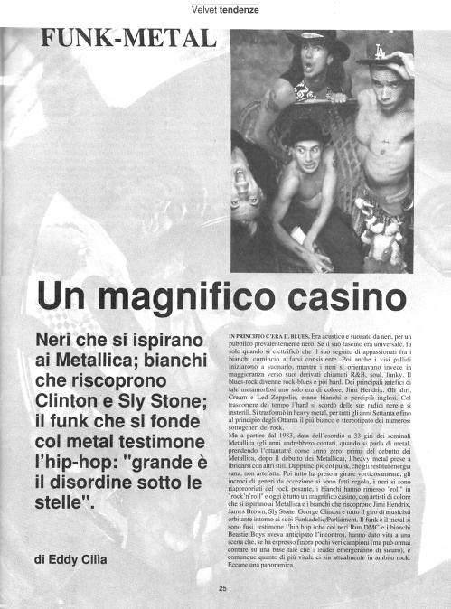Funk-metal - Un magnifico casino 1