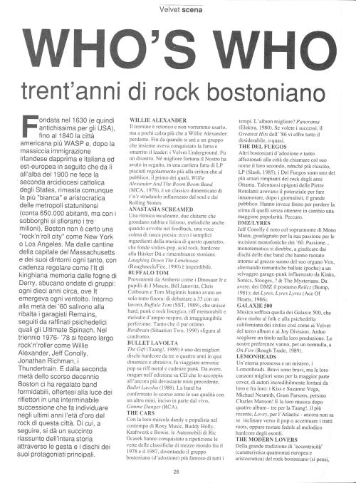 Trent'anni di rock a Boston 1