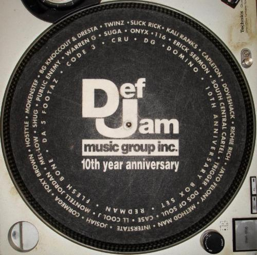 Def Jam 10th Year Anniversary
