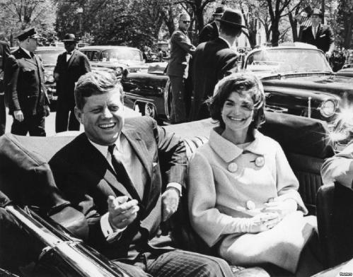 John e Jacqueline Kennedy