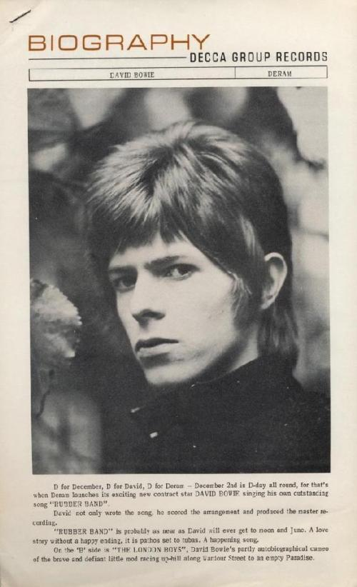 David Bowie - Biography