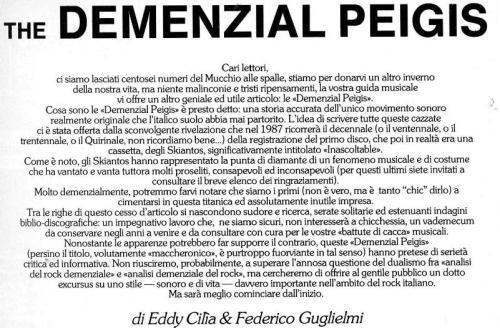The Demenzial Peigis 1.