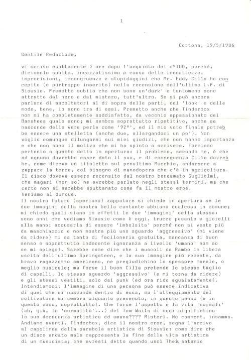 Lettera SIB 1