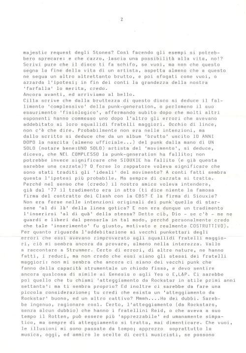 Lettera SIB 2