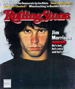 Rolling Stone, Jim Morrison cover