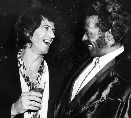Keith Richards & Chuck-Berry