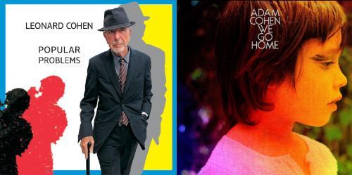 Leonard Cohen vs Adam Cohen