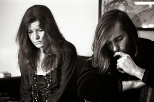 Janis Joplin e Sam Andrew 1968
