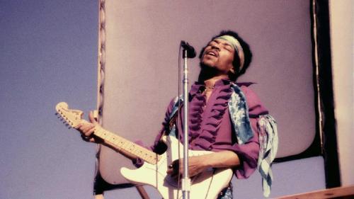 Jimi Hendrix al Wight Festival
